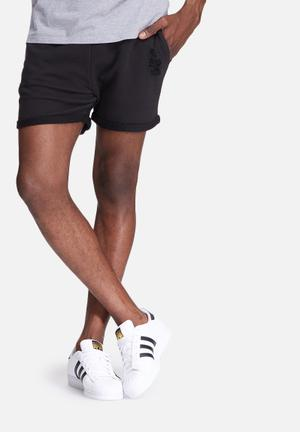 Jack & Jones Originals Corona Sweat Shorts Black
