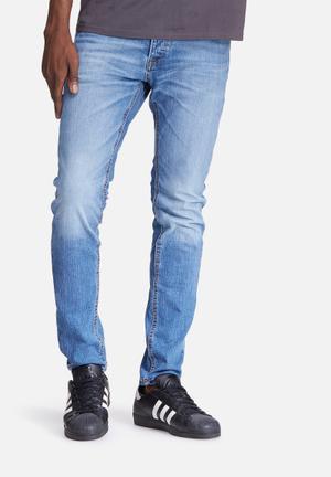 Jack & Jones Jeans Intelligence Tim Slim Jeans Blue