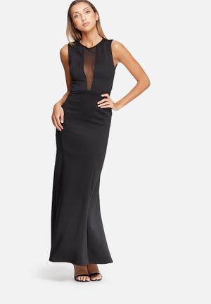 Dailyfriday Fish Tail Maxi Dress Occasion Black