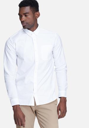Jack & Jones Premium David Slim Shirt White
