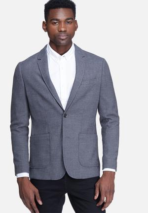 Jack & Jones Premium Perrol Slim Blazer Jackets & Coats Grey