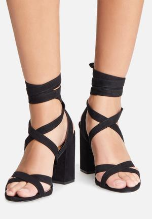 Therapy Stirred Heels Black