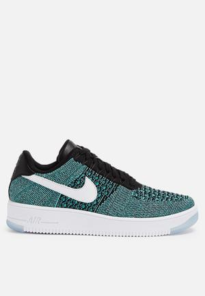 Nike Nike Air Force 1 Ultra Flyknit Low Sneakers Hyper Jade / White / Black / Hyper Turquoise