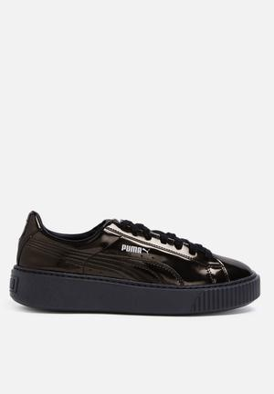 PUMA Basket Flatform Sneakers Metallic Bronze