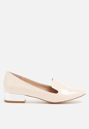 Glamorous Ella Loafer Pumps & Flats Nude