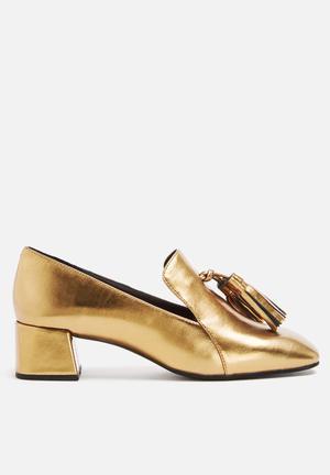 Jeffrey Campbell Gulana Heels Gold