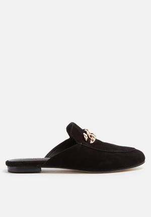 Jeffrey Campbell Apfel Slipper Pumps & Flats Black