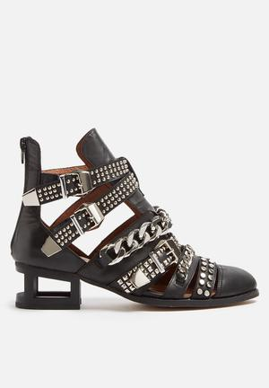 Jeffrey Campbell Next Level Boots Black