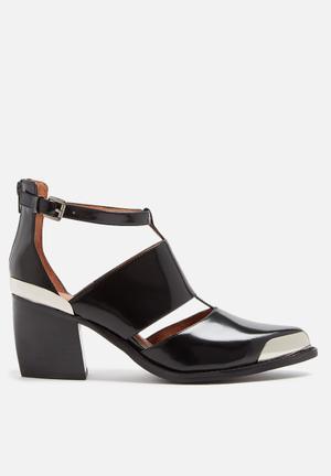 Jeffrey Campbell Romina Heels Black