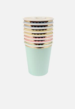 Meri Meri Pastel Party Cups Partyware Paper