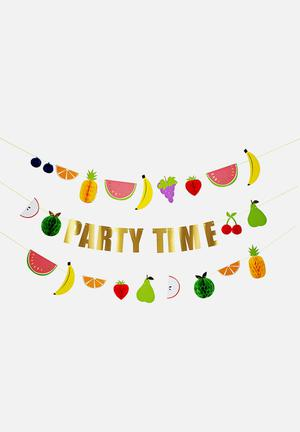 Meri Meri Fruit Party Garland Partyware Paper