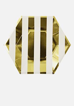 Meri Meri Gold Plates Partyware Paper