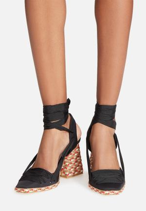 Jeffrey Campbell Nunez Heels Black , Red And Green