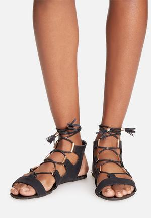 Billini Luca Sandals & Flip Flops Black