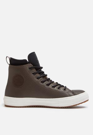Converse Chuck Taylor All Star II Boot HI Sneakers Black/ Chocolate / Egret
