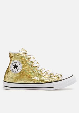 Converse Chuck Taylor All Star HI Sneakers Gold