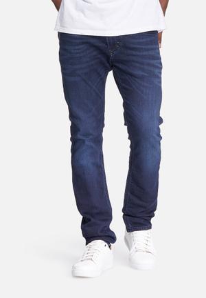Diesel  Thavar Sweat Jeans Blue