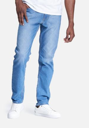 Basicthread Slim Fit Denims Jeans Blue