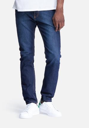 Basicthread Slim Fit Denims Jeans Dark Blue