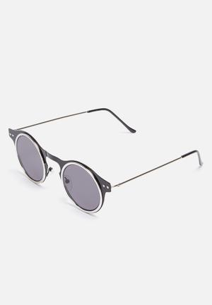 Spitfire Machina Eyewear Black & Silver