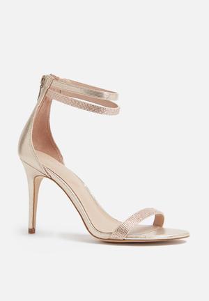 ALDO Sherlin Heels Gold