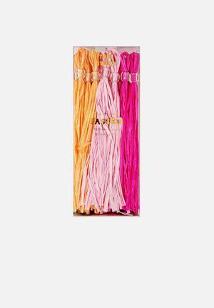 Meri Meri Pink Party Tassels Partyware Paper