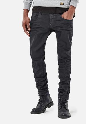 G-Star RAW Revend Super Slim Denim Jeans Black