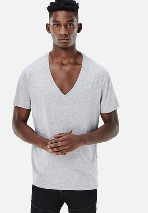 G-Star RAW Base 2-pack Premium T-Shirts & Vests Grey