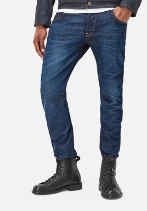 G-Star RAW Arc 3D Slim Jeans Dark Aged Hydrite Denim