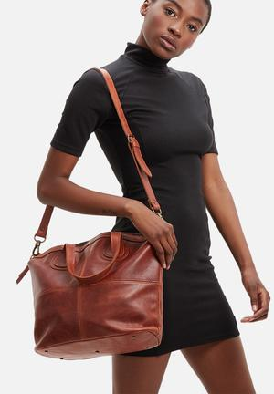 FSP Collection Katie Leather Tote Bags & Purses