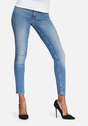 GUESS Skinny Low Jeans Blue