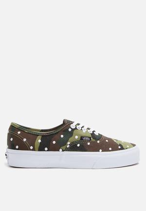 Vans Authentic Sneakers Woodland / True White