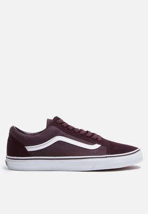 Vans Old Skool Sneakers Iron Brown / True White
