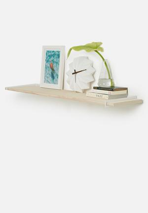 Smart Shelf Dash Shelf  Birch Ply Wood & Steel