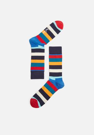 Happy Socks Stripe Sock Multi