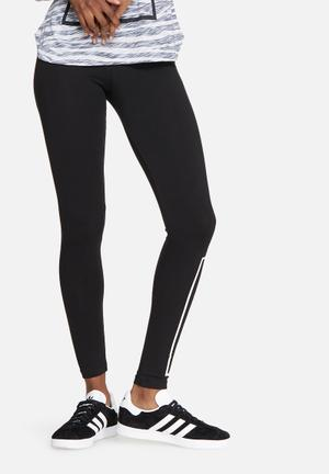ONLY Play Minja Jersey Leggings Bottoms Black & White