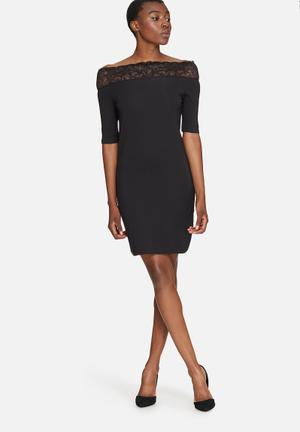 Vero Moda Lacy Dress Formal Black