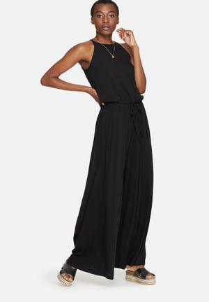 Dailyfriday High Neck Jumpsuit Black