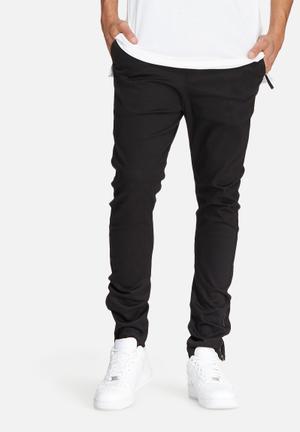 Basicthread Deco 2 Skinny Pants Black