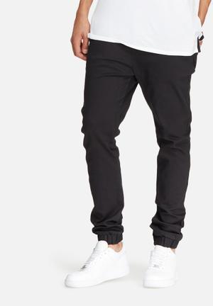Basicthread Blaze 2 Slim Fit Jogger Pants & Chinos Black