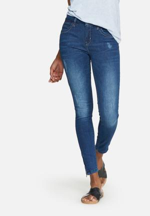 ONLY Kendall Regular Ankle Jeans Blue