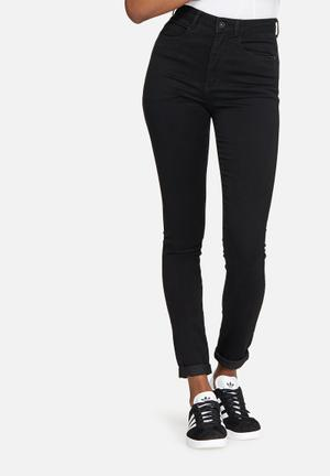 ONLY Royal High Waisted Skinny Jeans Black