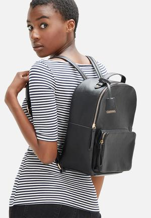 Glamorous Classic Backpack Bags & Purses Black