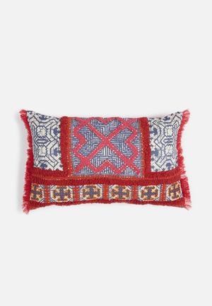Sixth Floor Riaki Cushion Cover Dupion Back