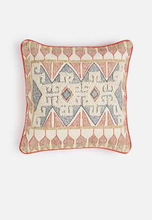 Sixth Floor Dari Cushion Cover 100% Cotton Back