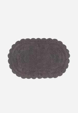 Sixth Floor Crochet Bathmat 100% Cotton