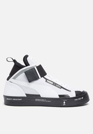 PUMA Select Court Play X UEG Sneakers White & Black
