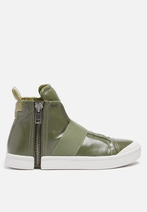 Diesel  Nentis Strap Sneakers Olive