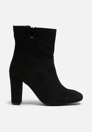 Vero Moda Siwie Suede Boot Black
