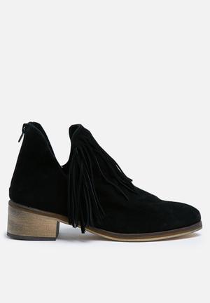 Vero Moda Laure Suede Boot  Black
